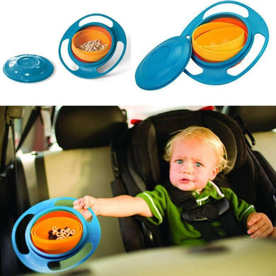 UFO Shaped Gyro Rotary Kids Bowl - fommystore