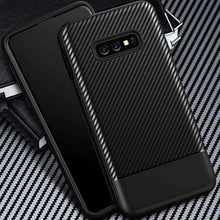 Load image into Gallery viewer, AMZER Carbon Fiber Texture TPU Case for Samsung Galaxy S10e - Black - fommystore