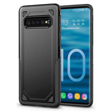 Load image into Gallery viewer, AMZER Hybrid Armor Case with Anti Slip Grip Drop Protection for Samsung Galaxy S10+ - fommystore