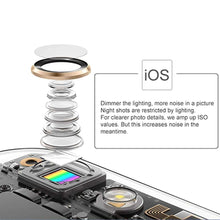 Load image into Gallery viewer, Mini and Portable Live Show Beauty Artifact 3 Levels of Brightness Warm and White Light Fill Light with 9 LED Light, For iPhone, Galaxy, Huawei, Xiaomi, LG, HTC and Other Smart Phones(Blue) - fommystore