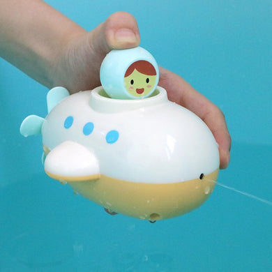 Children Swimming Submarine Spraying Bath Toy Random Color Delivery