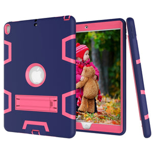Rugged Shockproof Armor Dual Layer Hybrid Case for Apple iPad Air 10.5 2019/ Apple iPad Pro 10.5