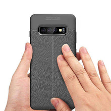 Load image into Gallery viewer, AMZER Premium Leather Texture Design Slim TPU Case for Samsung Galaxy S10e - fommystore