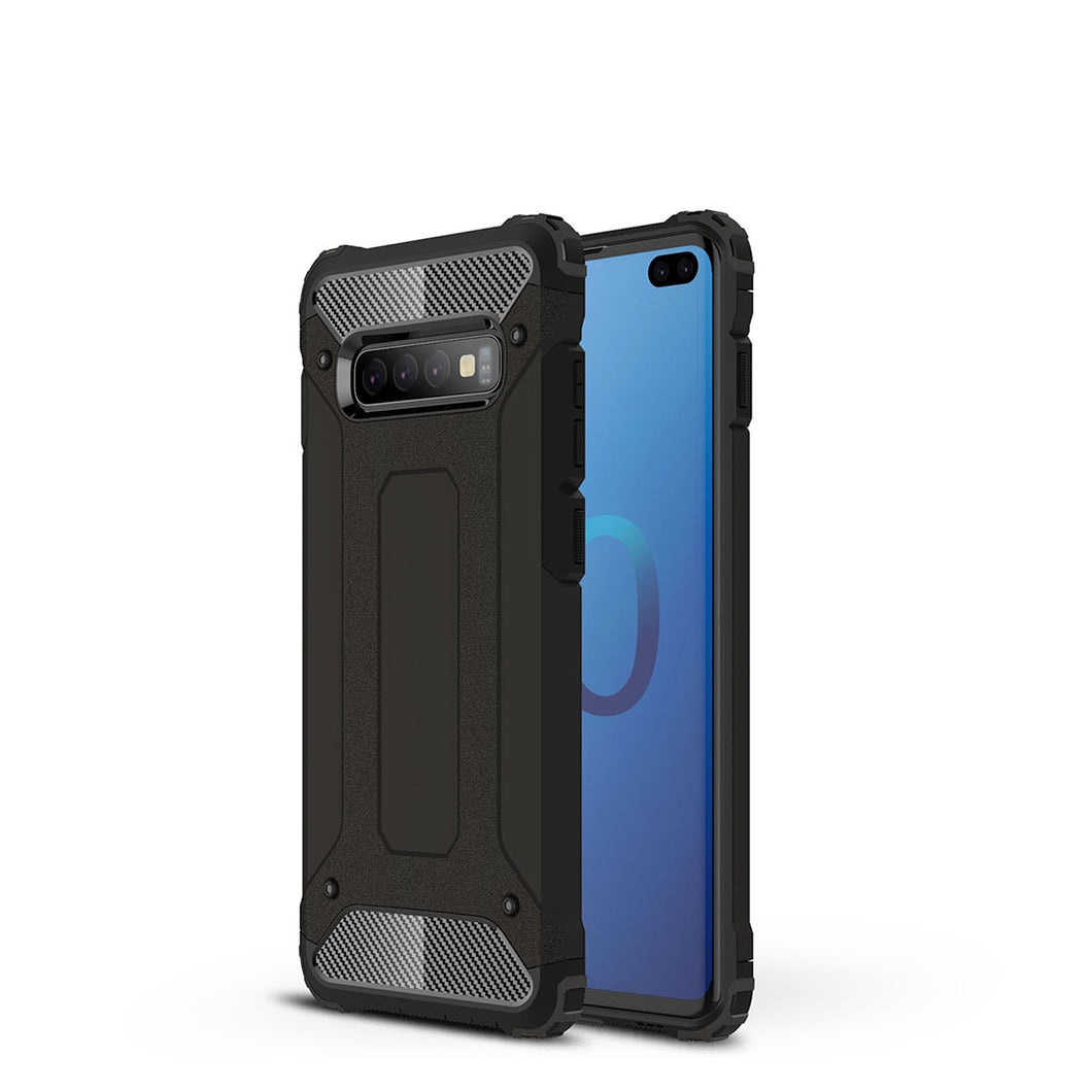 AMZER Hybrid Dual Layer Rugged Armor Case for Samsung Galaxy S10+ - fommystore
