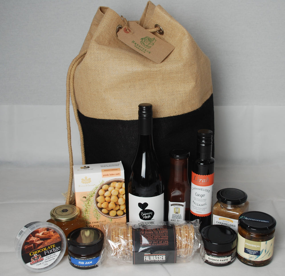 The Gourmet Hamper from Haversack Hampers Brisbane