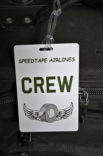 Luggage Tag - CREW