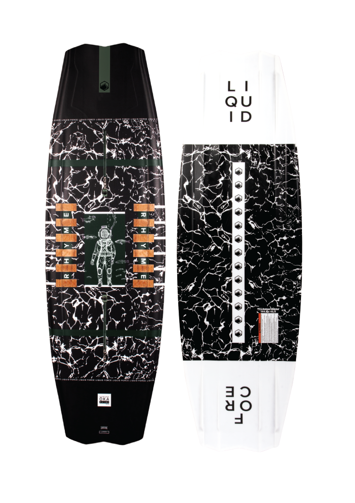 2021 LIQUID FORCE RHYME WAKEBOARD