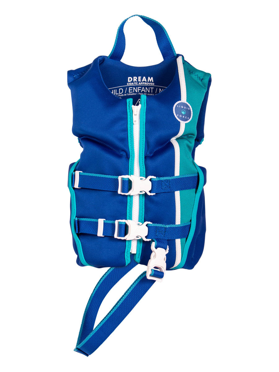 2021 LIQUID FORCE DREAM CHILD CGA VEST - 33-55LBS