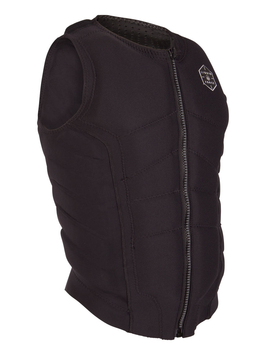2021 LIQUID FORCE GHOST COMP VEST BLACK (NON-CGA)