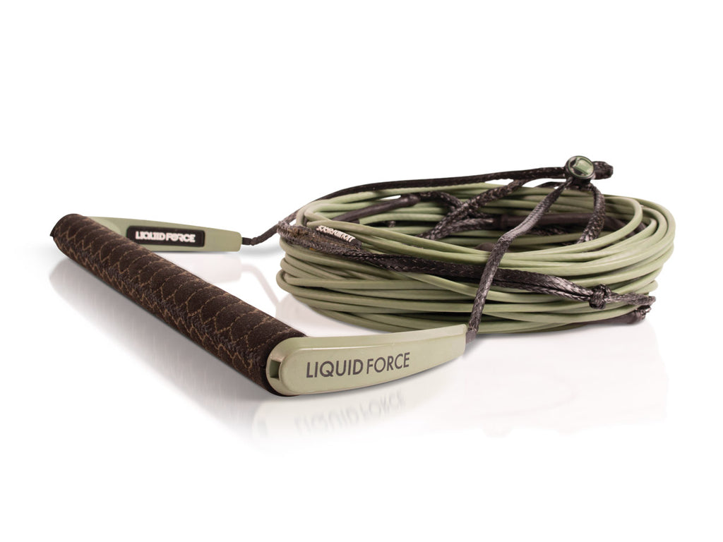 2021 LIQUID FORCE PULSE SUEDE / CIRCUIT 75' ROPE AND HANDLE COMBO