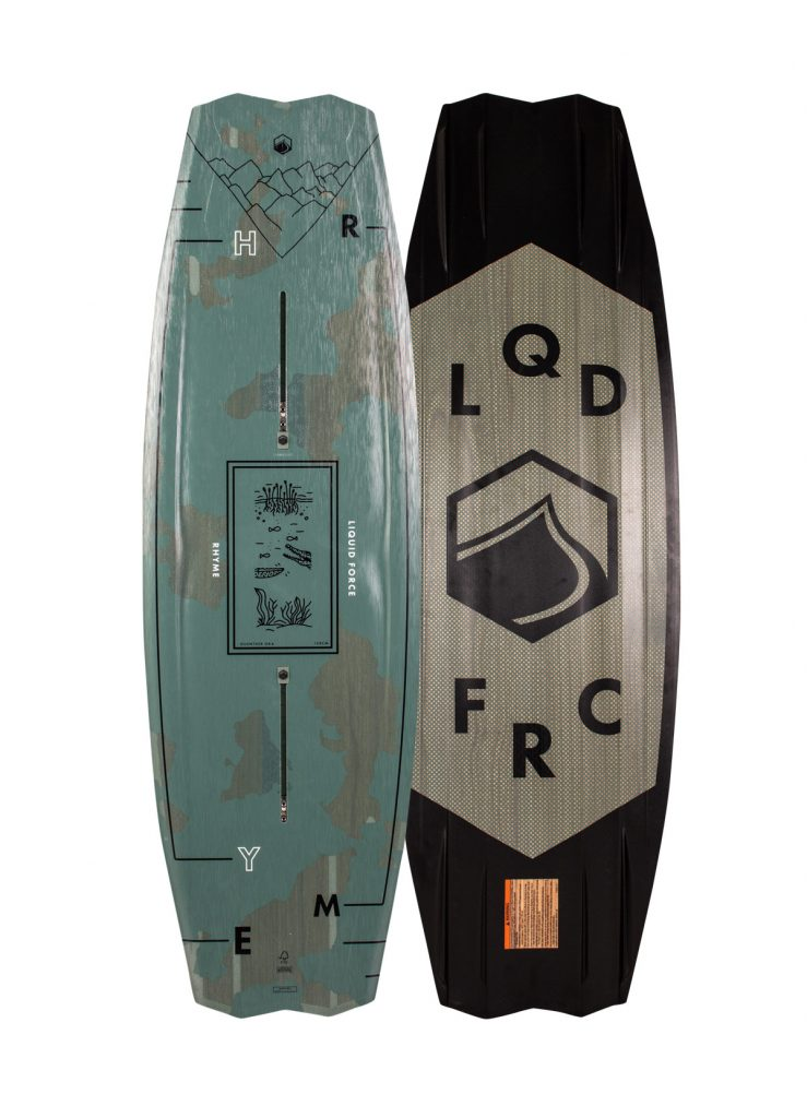 2020 LIQUID FORCE RHYME WAKEBOARD