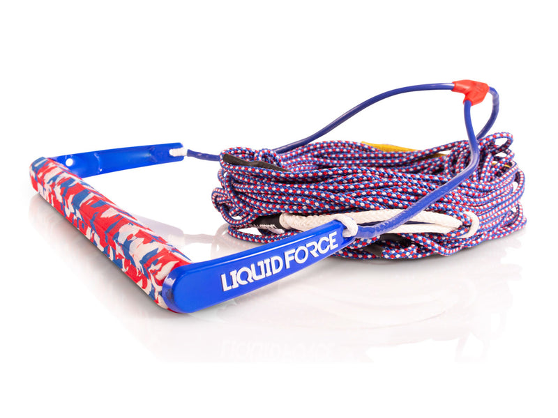 2021 LIQUID FORCE TEAM / H-BRAID AMERICA 70' ROPE AND HANDLE COMBO