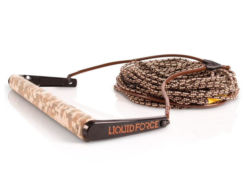 2021 LIQUID FORCE TEAM / H-BRAID CAMO 70' ROPE AND HANDLE COMBO