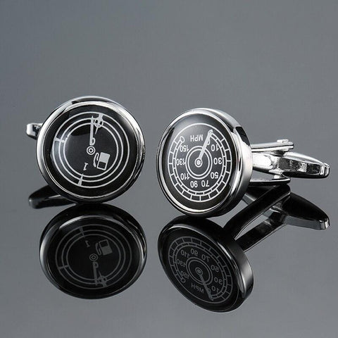 The Speedometer- Motorsport Cufflinks - Cufflink Store
