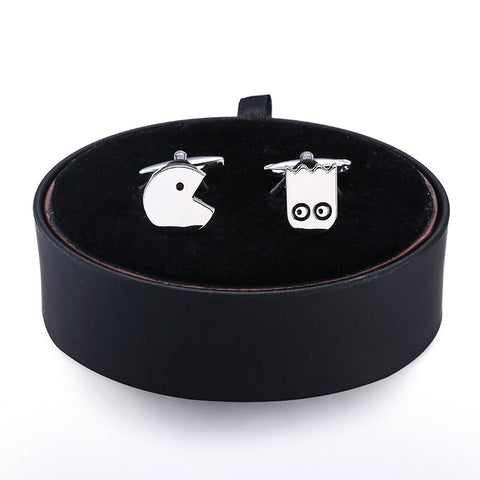 Packman Cufflinks- Box Set - Cufflink Store
