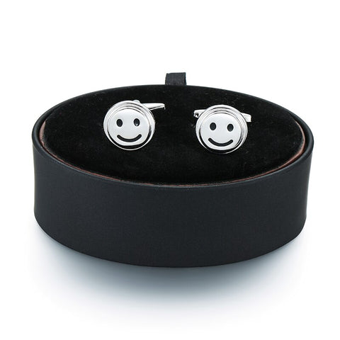 Smiley Cufflinks- Box Set - Cufflink Store