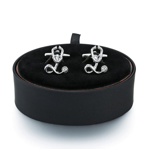 Stethoscope Cufflinks- Box Set - Cufflink Store