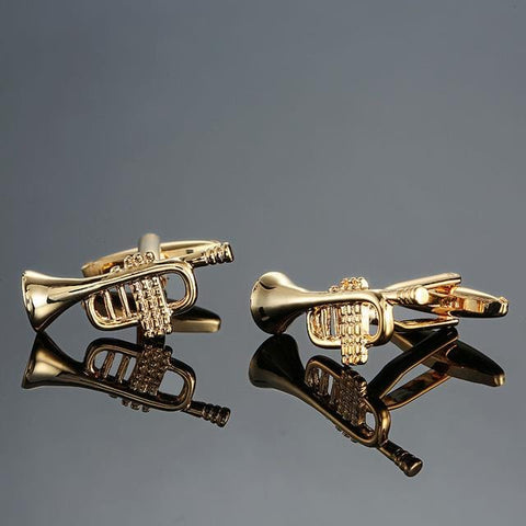 The Trumpet - Music Cufflinks - Cufflink Store
