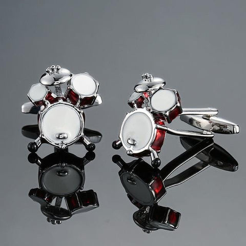 The Percussionist - Music Cufflinks - Cufflink Store