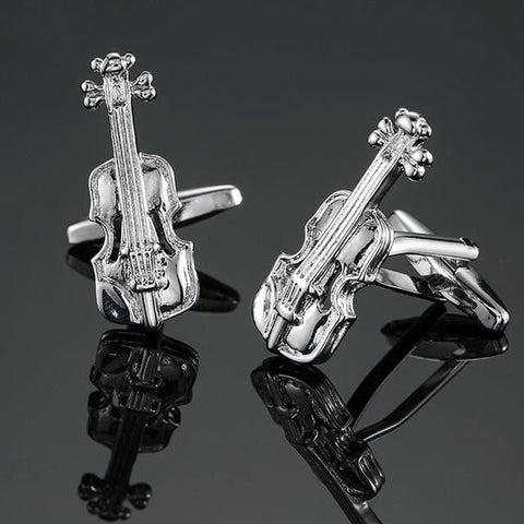 The Violin- Music Theme - Cufflink Store