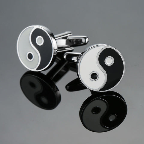 Ying and Yang - Exotic Cufflinks - Cufflink Store