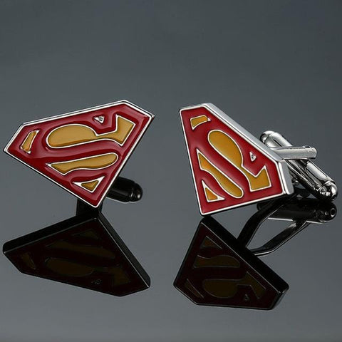 Superman - Super Hero Cufflinks - Cufflink Store
