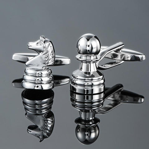 The Chess GM - Exotic Cufflinks - Cufflink Store