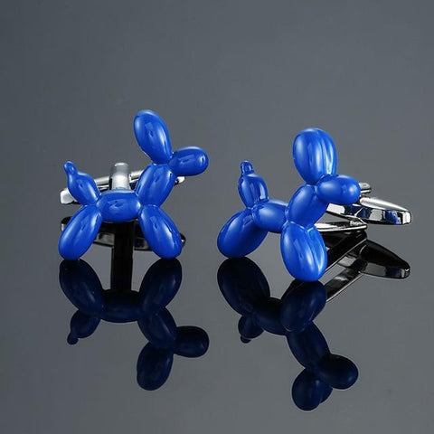 Koons' Balloon Dog - Animal Cufflinks - Cufflink Store