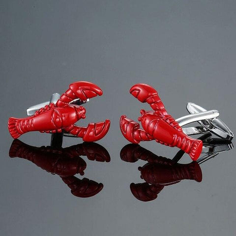 The Illustrious Lobster - Animal Cufflinks - Cufflink Store