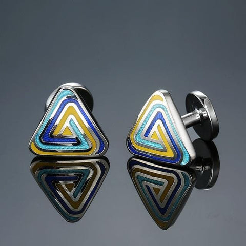 The Triangle Of Light - Classic Cufflinks - Cufflink Store