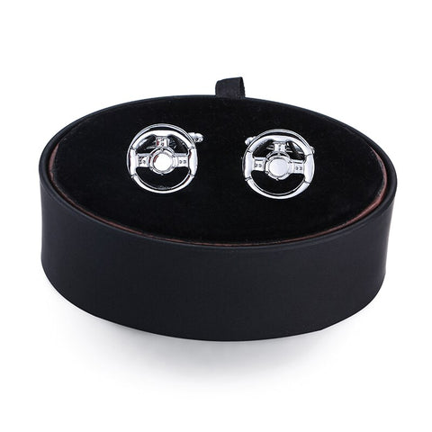 Steering Wheel Cufflinks- Box Set - Cufflink Store