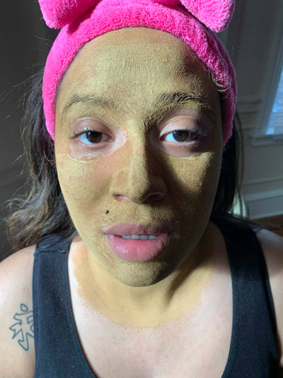 Rhassoul Clay Mask Tutorial for Oily Skin or Blackheads with simple ingredients!