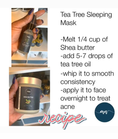 Australian Tea Tree Oil Night Mask