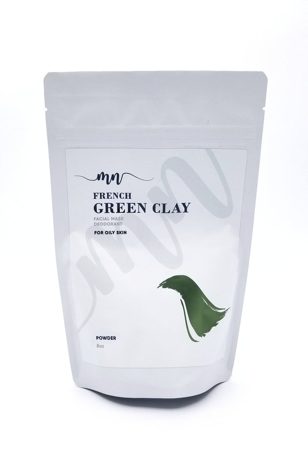 French Green Clay - The Melanin Nurse