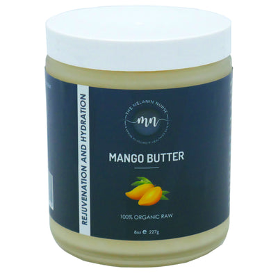 100% Unrefined Mango Butter - The Melanin Nurse