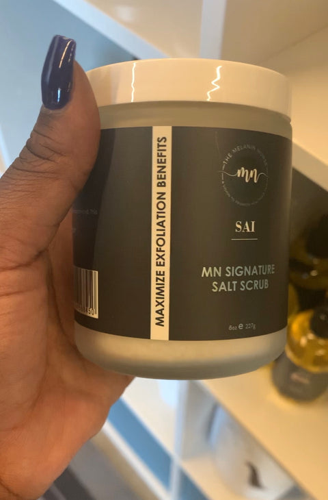 MN Signature Sea Salt Scrub - The Melanin Nurse