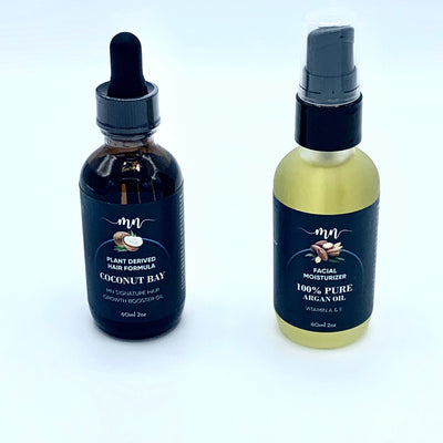 Coconut Bay Hair Oil / Argan Oil bundle