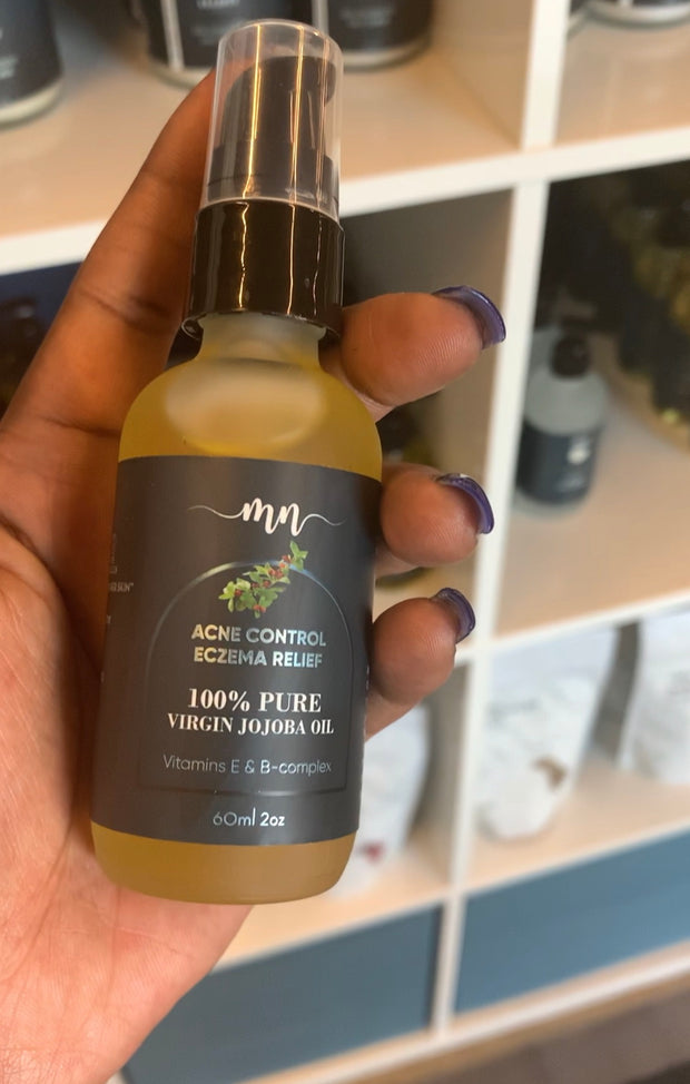 100% Pure Jojoba Oil - The Melanin Nurse