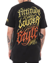 ATTITUDE BY SNER T-SHIRT