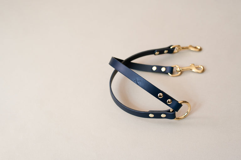 Leather Twin Lead Extension