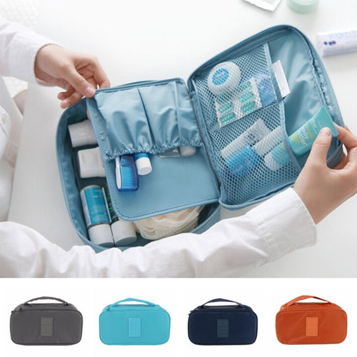 Multi-Use Travel Cosmetic Bag