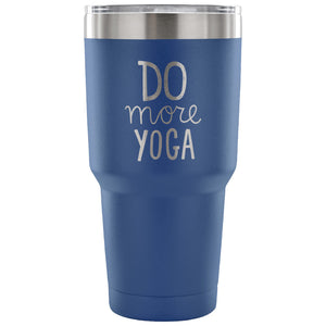 """Do More Yoga"" Travel Mug"