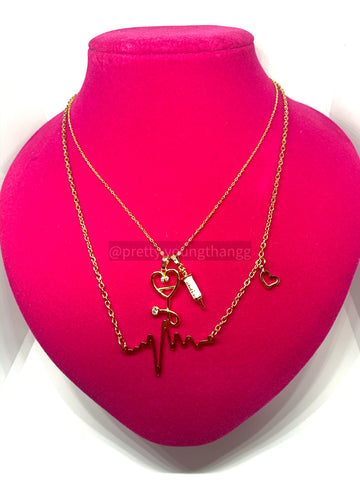 Nurse Necklace w. Heartbeat