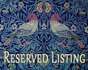 RESERVED for Doreen - Inglenook Fibers