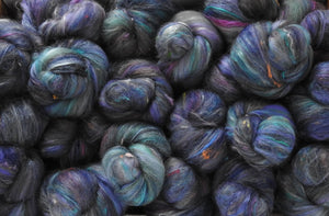 Sock Batts - Chinchilla - (4 oz.) - Inglenook Fibers