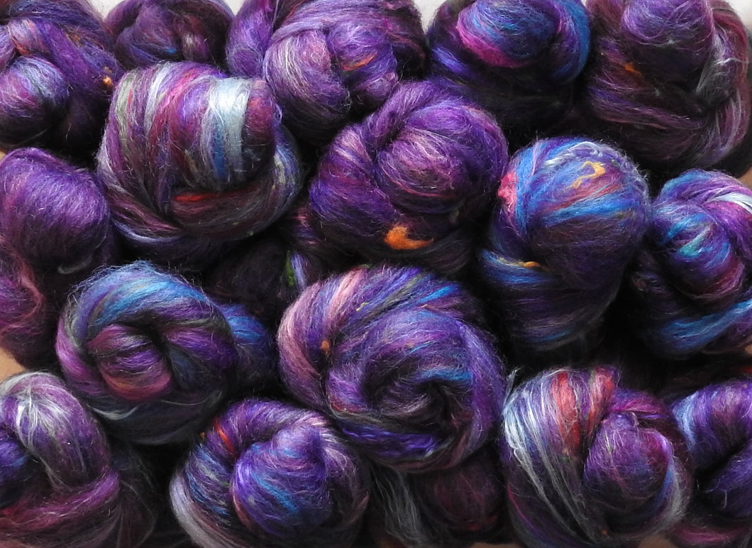 Sock Batts - Your Majesty - (4 oz.) - Inglenook Fibers