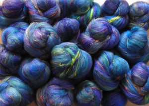 Sock Batts - Clematis - (4 oz.)