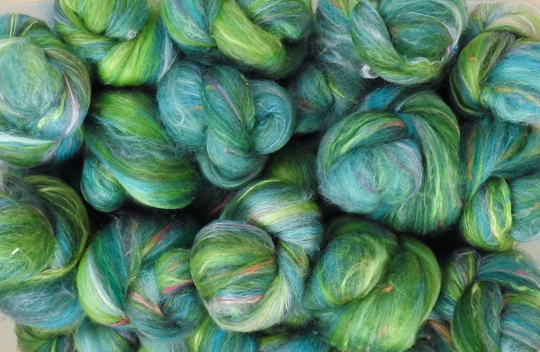 Sock Batts - Leapfrog - (4 oz.)