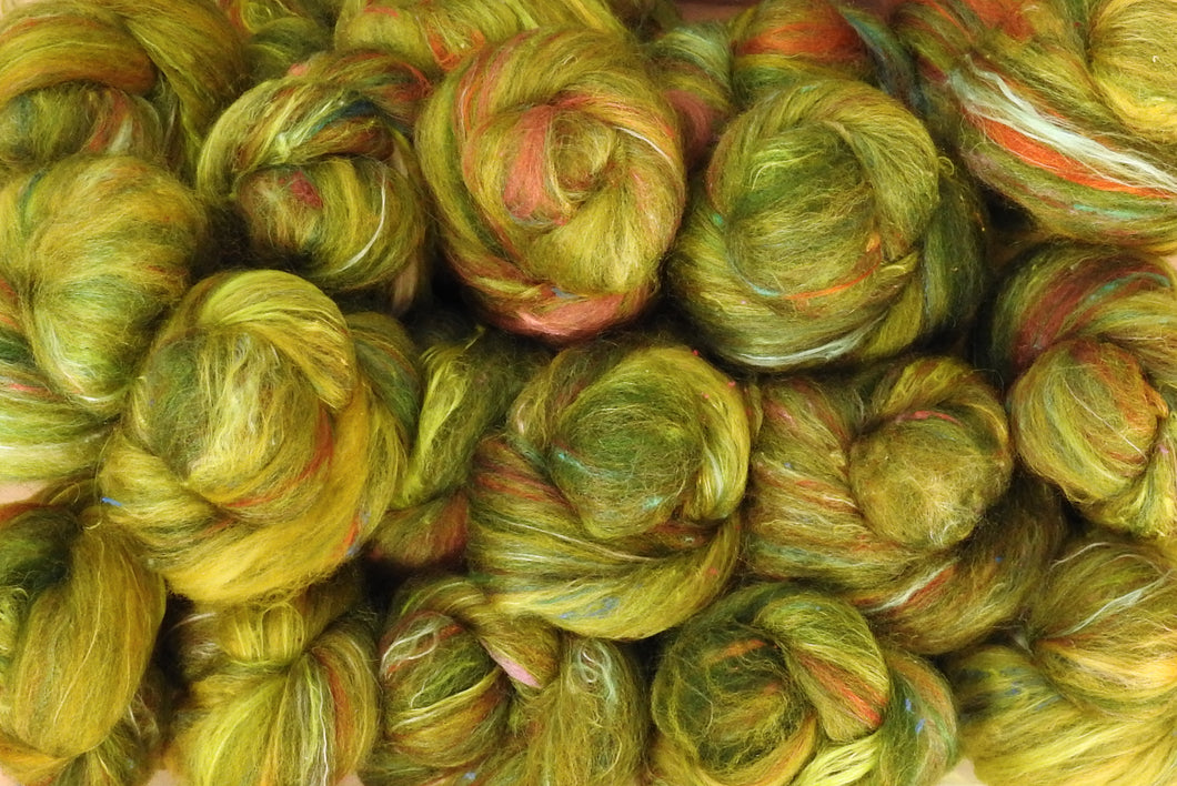 Sock Batts - Willow - (4 oz.) - Inglenook Fibers