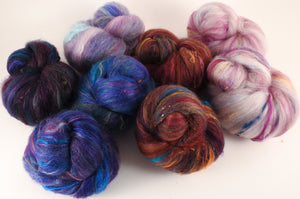Sock Batts - Hodgepodge - (6.4 oz.) - Inglenook Fibers
